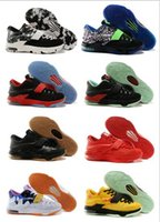 Wholesale kd boots size for sale - Newest Kevin Durant KD basketball shoes KD7 Sports Shoes running shoes Athletic low boots HIGH quality mens size
