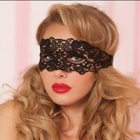 Wholesale Mix Order Halloween Mask - new Mysterious half face goggles sexy charm black lace mask variety Halloween accessories mix order as your needs