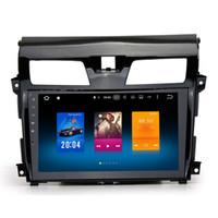 "Wholesale Nissan Teana Dvd Player - 10.2"" Android 6.0.1 System Car DVD Player For Nissan Teana Altima 2013+ Radio RDS GPS Navi Receiver OBD DVR BT 4G Octa Core 2G RAM"