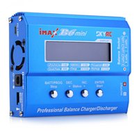 Wholesale Mini Rc Helicopter Lipo Batteries - Genuine SKYRC iMAX B6 MINI 60W 6A Lipo Professional Balance Charger Discharger For RC Helicopter Battery Charging Re-peak Model