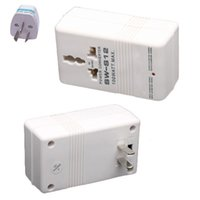 Wholesale Step Up Down - Newest White Professional 110 120V to 220 240V Step Up Down Dual Voltage Converter Transformer Travel Adapter Switch Promotion