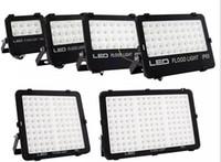 Wholesale floodlight design - New Design SMD LED Floodlights for outdoor lighting 10W 20W 30W 50W 100W 150W waterproof Reflector Floodlight high brightness AC85-265V LLFA