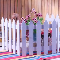 Wholesale Handmade Decoration Pieces - (20 piece) Handmade Mini Fence Barrier Wooden Craft Miniature Fairy Garden Terrarium Branch Palings Showcase Decoration Bonsai plant garden