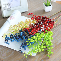 2017 4pieces 1pack rich fruit photo props New arrival christmas berries accueil décoration accessoires american artificial flower