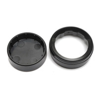 Wholesale Uv Lens Cover - Wholesale-Black Tempered Glass UV Filter Lens + Plastic Camera Lens Cap Cover Protector For Xiaomi Yi 2  for Xiaomi Yi 4k DV Sport Camera