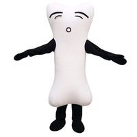 Wholesale Bone Mascot Costumes Cartoon Character Adult Sz Real Picture
