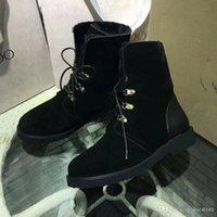 Wholesale Women Oxford Shoes Fashion Brand - 2017 Giuseppe 1 Zanotti Luxury brands GZ Womens Black Suede Ankle Boots Shoes Fashion fleece boots Oxford shoes Come With Box