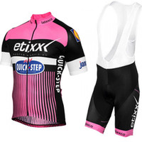 Wholesale etixx jersey for sale - Group buy pink color etixx cycling jersey gel pad bike shorts Ropa Ciclismo quick dry pro cycling wear bicycle Maillot Culott