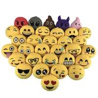 satış cep telefonu aksesuar toptan satış-Fabrika doğrudan satış emojiQQ ifade süsleme aksesuarları peluş oyuncaklar yaratıcı takı cep telefonu kolye bebek