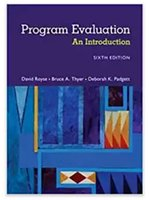 Wholesale new Program Evaluation An Introduction to an Evidence Based Approach th Edition ISBN