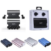 Wholesale Mix Mobile Cases - Wireless Earbuds Twins X2T Bluetooth CSR4.2 Earphone Stereo with Magnetic Charger Box Case Headset for iphone Samsung Mobile phone