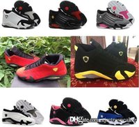 Wholesale Cheap Size 14 Basketball Shoes - Retro MJ 14 women basketball shoes online cheap sale original top quality real sneaker US size 5.5-8.5 with BOX free shipping