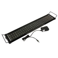Wholesale Epistar Strip - 30cm 40cm 60cm 90cm Aquarium Light Fish Tank Epistar SMD LED Light Lamp 2 Modes White+Blue Marine Aquarium Led Lighting