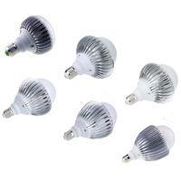 Wholesale High Power E27 21w - New Bright A19 E27 E26 Globe LED Bulb Light Lamp 85-265V 15W 18W 21W 24W 27W 30W High Power Led Bulb 180 Degree Super Bright Lamp