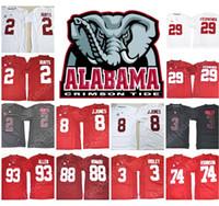 Wholesale Allen Sports - 2018 NEW Alabama Crimson Tide NCAA Jersey FITZPATRICK Julio Jones Jalen Hurts Ridley Allen Robinson O.J Howard College jerseys Hot SPORT