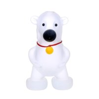Wholesale cute polar bear - Smoking Dogo 2017 Wholesale New Design Cute Polar Bear Glass Pipes Animals Pipes High Quality Glass Pipes PP-219