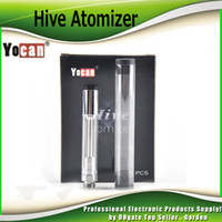 Wholesale genuine designs - Original Yocan Hive Atomizers Wax Vaporizer & Oil Cartridges No Leakage Design for Yocan Hive 2in1 kit tank 100% Genuine 2204033