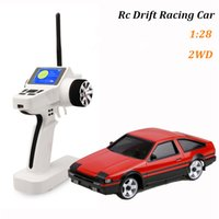 Wholesale Racing Game Controller - 2016 Hot Sale Train Juguetes Brinquedos 1 Piece Ae86 Model Rc Cars Mini Electric Racing Games 2wd Remote Control Car Hot Sale Toys for Kids