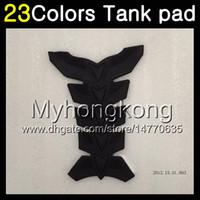 Wholesale 13 Triumph 675 - 23Colors 3D Carbon Fiber Gas Tank Pad Protector For Triumph Daytona 675 09 10 11 12 13 14 2009 2010 2011 2012 2013 2014 3D Tank Cap Sticker
