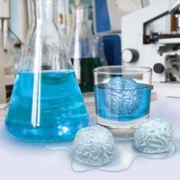 Wholesale Silicone Mould Brain - Free Shipping Brain Ice 3D Mold Silicone Mold Cake Tools Cutter Ice Molds Cream Mould Cooking Tools Tools
