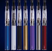 Wholesale Original Ego Blister - Best Original Ego starter kit CE4 atomizer Electronic cigarette e cig kit 650mah 900mah 1100mah EGO-T battery blister case Clearomizer