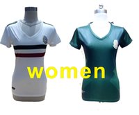 Wholesale Green Women Football Jersey - women CHICHARITO soccer jersey 2017 Green and white HERNANDEZ LAYUN women Soccer Jersey 17 18 football uniform