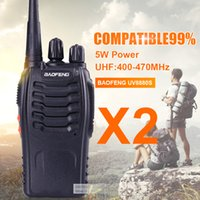 Wholesale Cheapest Baofeng - Wholesale- 2 pieces from RU Cheapest Baofeng 5W 16CH UHF400-470NHZ Handheld Two way Radio BF-888S walkie talkie