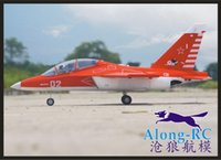 Wholesale Model Kit Jet - Wholesale- EPO plane  RC airplane RC MODEL HOBBY TOY 70mm EDF SPORT JET plane YAK-130 (kit set or strong PNP VERSION) Retractable