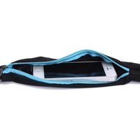 Wholesale Bum Bags - Wholesale- Running Travel Waist Pocket Jogging Sports Portable Waterproof Cycling Bum Bag Outdoor Phone anti-theft Pack Belt Sport Bag