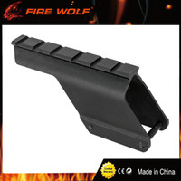 Wholesale picatinny accessories rails resale online - FIRE WOLF Quick Release Tactical Remington Shotgun Saddle Mount mm Picatinny Rail for Hunting Gun Accessories