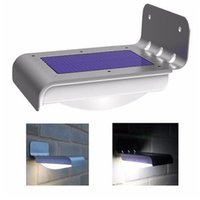 Wholesale Solar Energy Wholesale - 16 LED Solar Outdoor Light Panels Powered Motion Sensor Led Lamp Energy Saving Wall Lamp Solar Security Lights for Outdoor Garden