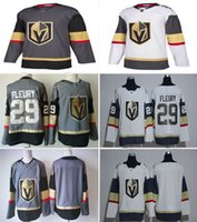 Wholesale New Vegas Golden Knights Jerseys Fleury Jersey New Hockey Jerseys White Gray Color Mix Order High Quality All Jerseys