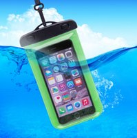 Wholesale Transparent Mobile Phones For Sale - Factory direct sales armhand a waterproof bag clip pvc outdoor mobile phone waterproof cover for univesal