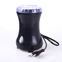 Wholesale Grinder Spices - Mini Electric Coffee Spice Grinder Maker Beans Herbs Nuts Stainless Steel Blades