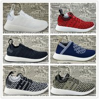 Wholesale Woman Leather Socks - 2017 Cheaper NMD City Sock 2 Primeknit Running Shoes,Men Women x Naked x Kith Training Sneaker NMD CS2 PK R2 Runner PK Boost Casual Boost