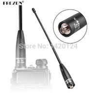 Wholesale Sma High Gain Antenna - Wholesale- Antenna NA-771 for baofeng radio High gain antenna DUAL BAND 144 430Mhz SMA-Female for BaoFeng UV-5R UV-82