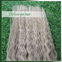 Best Selling Grey Virgin Brazilian Yaki Straight Hair Weave, Grau 7A Unprocessed Human Remy Hair weaves Extensions