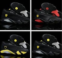 Wholesale Now Clear - Now Men women Cheap air retro 14 basketball shoes XIV 14s Varsity Red white black thunder sport sneaker man last shot suede athletic walking