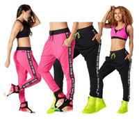 Wholesale Down Pants Women - woman dance pants When The Sun Goes Down Mesh Jogger Pants Long Leggings Yoga clothes dance pants black pink