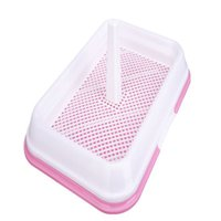 Wholesale Pet Dog Mesh Pet Toilet Tray Cat Pad Indoor Pet Potty Toilet Puppy Pee Training Clean Pot