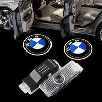 Wholesale Bmw E71 Led - 2x car-styling LED Car Lights laser door logo projector light for BMW F01 F02 F03 F04 F07 E70 E71 Welcome Ghost Shadow Lamp