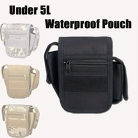 Wholesale Tacitcal Colors L Small Men Pouch D Waterproof Molle Nylon Waist Bag For Hunting Sport CL6