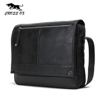 Wholesale vintage satchel bags for men - Wholesale- CROSS OX 2016 Autumn New Arrival Men's Messenger Bags For Men Cross Body Bag Men's Bag Shoulder Bags Business Casual SL383M