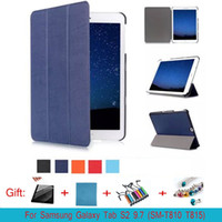 Wholesale Top Tablets China - Top Fashion Direct Selling Tab S2 9.7 Case Cover Slim Smart for Samsung Galaxy Sm-t810 T815 Tablet with Auto Sleep wake