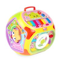 Wholesale Musical Instrument Toy Set - Colorful ABS 1~3 Yrs Baby Accordion Montessori Instrument Toys Educational Toy Magic Video Teaching Aids Set Materials