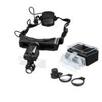 Wholesale Helmet Magnifying Glass - Beileshi 1X-20X1 LED Illuminated Magnifier Magnifying Glass Helmet Maintenance Work, Reading Wholesale NO.9892E