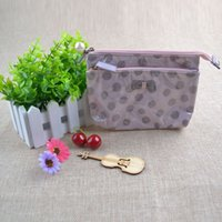 Wholesale Travel Wash Bag Wholesale - 2017 New Korean elegant large capacity Barrel Shaped Nylon Wash Organizer Storage Travel Dresser Pouch Cosmetic Makeup Bag For Women