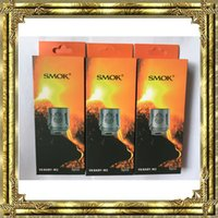 Wholesale Head Pc For Baby - 500 pcs SMOK V8-Baby M2 Coil Head 0.15ohm & 0.25ohm 0.3ohm E-cigs Accessories Replacement Head for TFV8 Big Baby Tanks