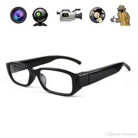 Wholesale Hd Spy Sport Glasses Camera - 1080P Spy DV DVR Video Audio Recorder Glasses Hidden Camera Eyewear CMOS SPORT DV GLASSES