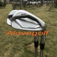 Wholesale G P S - 2017 New golf irons JPX 900 forged irons(4 5 6 7 8 9 P G) with dynamic gold S300 steel shaft 8pcs golf clubs